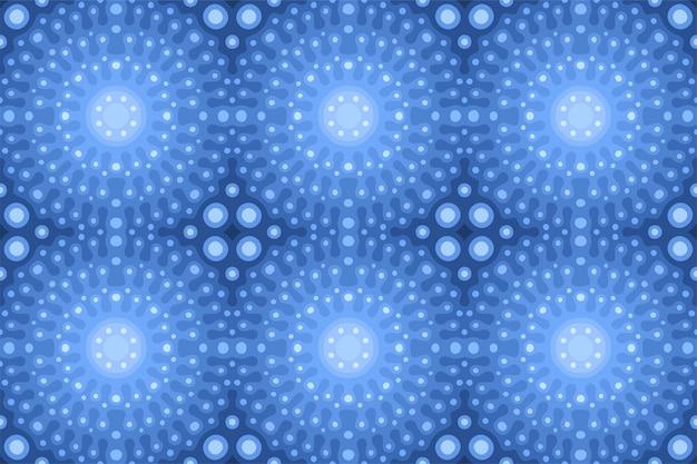 Piękne niebieskie tło web z błyszczącym wzorem płytki bez szwu