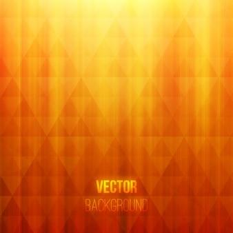 Piękne pomarańczowe i żółte tło geometryczne