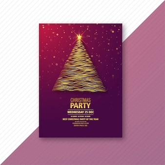 Piękne świąteczne wakacje szablon karty tło
