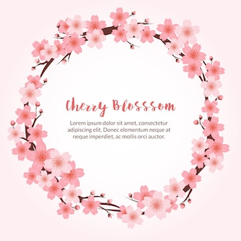 Piękne tle cherry blossom