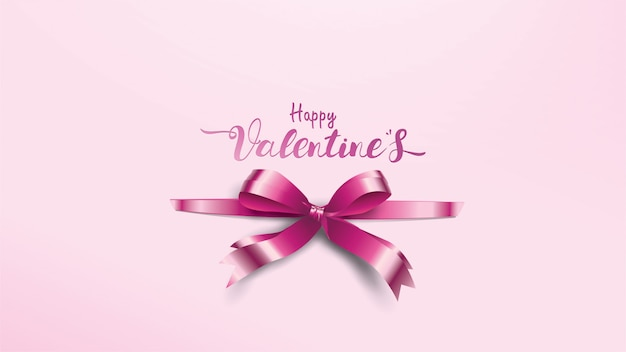 Piękne tło valentine's day