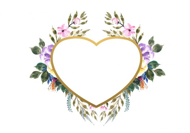 Piękne walentynki ozdobne kwiaty serca