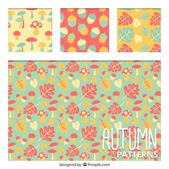 Piękne wzory w ciepłych kolorach