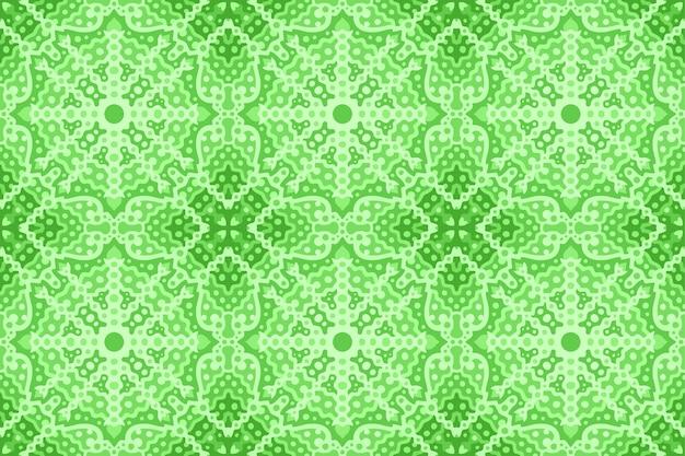 Piękne zielone tło web z abstrakcyjny wzór bez szwu