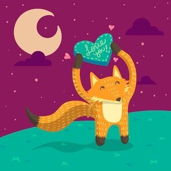 Piękny fox
