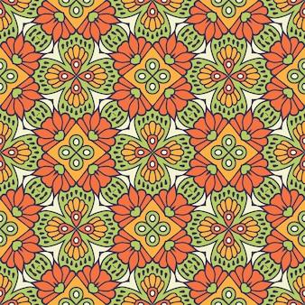 Piękny indyjski tradycyjny wzór