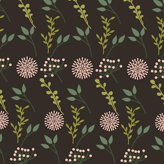 Piękny kwiecisty dekoracyjny deseniowy tło