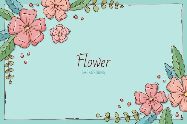 Piękny kwitnący kwiat wiosna tło