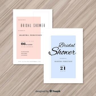 Piękny projekt dla nowożeńców prysznic