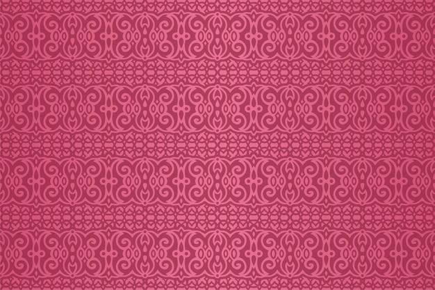 Piękny różowy abstrakcyjny wzór bez szwu