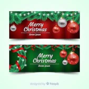 Piękny świąteczny baner facebook