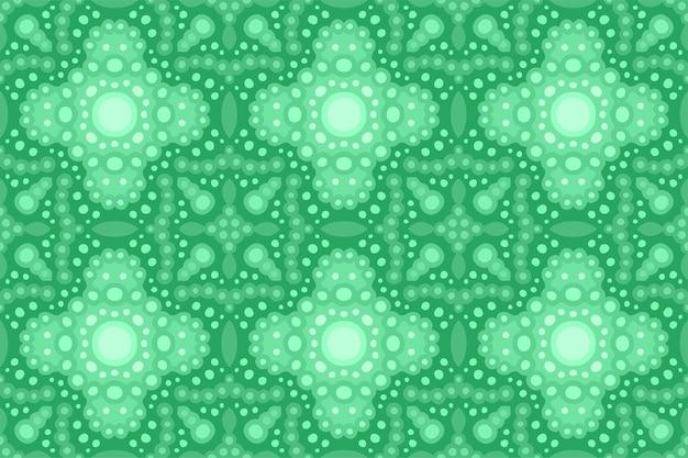 Piękny zielony streszczenie bezszwowe dachówka wzór