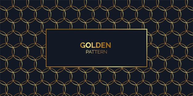 Piękny złoty wzór tła