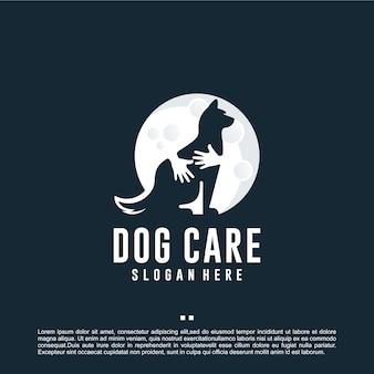 Pielęgnacja psa, inspiracja do projektowania logo