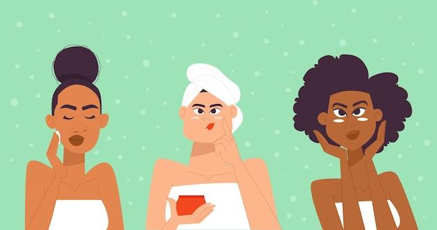 Pielęgnacja skóry kobiety