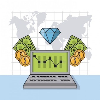Pieniądze biznesowe i inwestycje