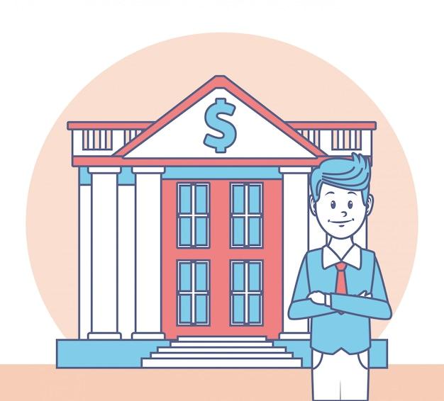 Pieniądze i biznesowy projekt, finansowa handel rynku zapłata inwestują i kupują tematu wektoru ilustrację