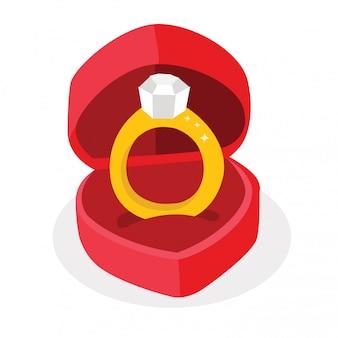 Pierścień i pudełko