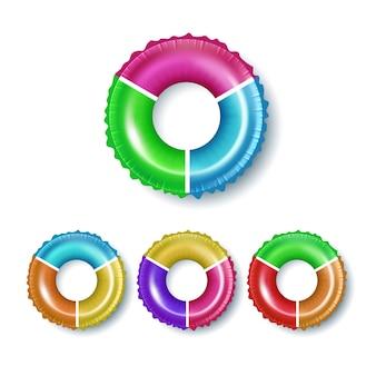 Pierścień pływający do zestawu narzędzi basenowych