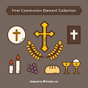 Pierwsza kolekcja komunii