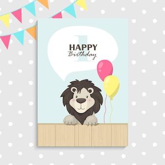 Pierwsze urodziny lwa