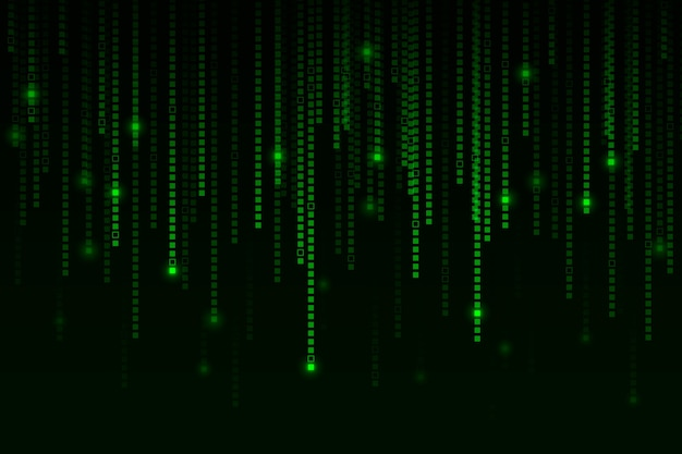 Piksel deszcz streszczenie tło