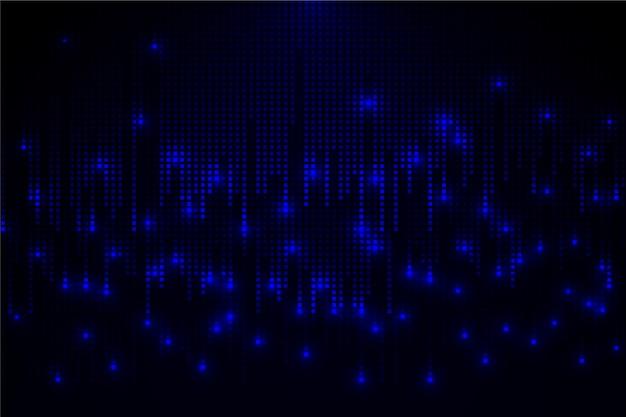 Piksel streszczenie tło deszcz