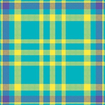 Piksel tło wektor wzór. plaid nowoczesny wzór.