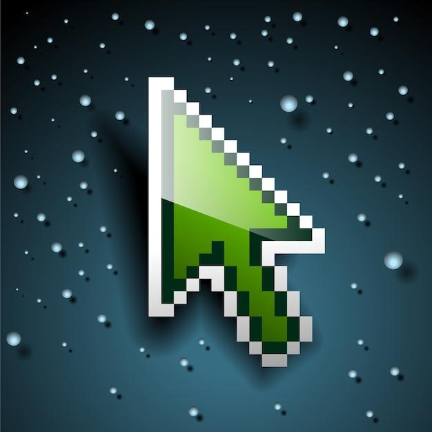 Pikselowa kartka świąteczna