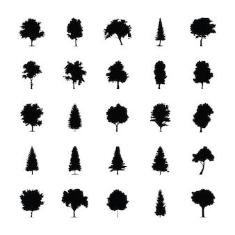 Piktogram bryły drzew