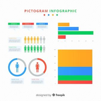 Piktogram infografika