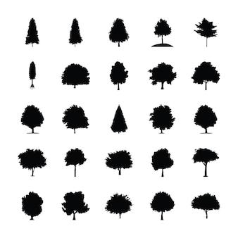 Piktogramy bushey trees