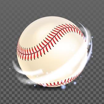 Piłka do baseballu do gry konkurencyjnej vector