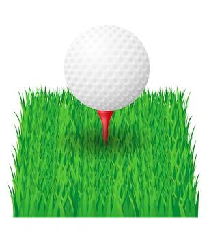 Piłka golfowa.