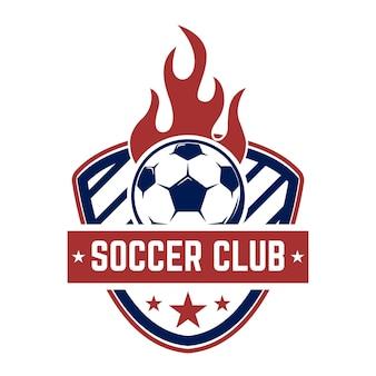 Piłka nożna, emblematy piłkarskie.
