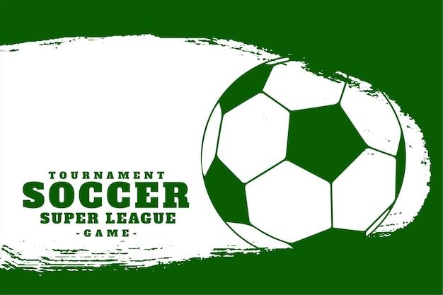 Piłka nożna liga sportowa