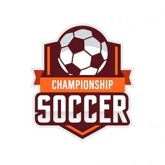 Piłka nożna logo american logo sports