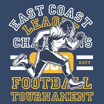 Piłka nożna na wschodnim wybrzeżu