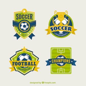 Piłka nożna odznaki