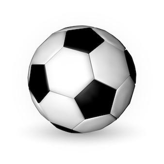 Piłka nożna, piłka nożna na białym tle