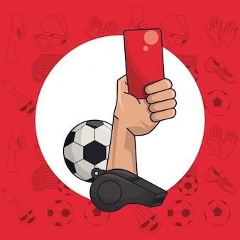 Piłka nożna sportowa gra