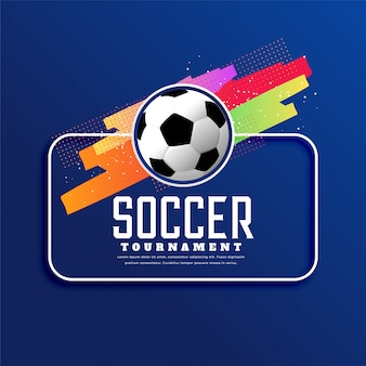Piłka nożna turniej sport transparent tło