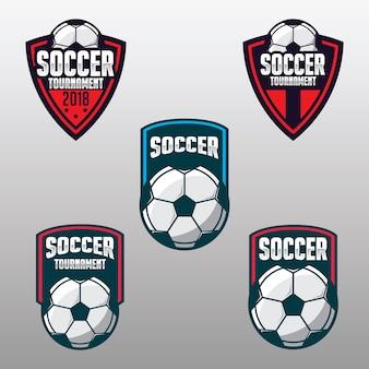 Piłka nożna znaczek, sport logo piłki nożnej