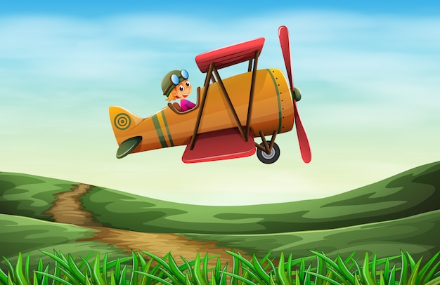 Pilot latający śmigłem