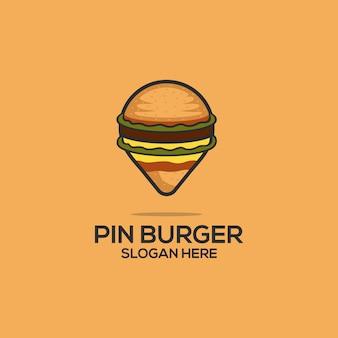 Pin burger