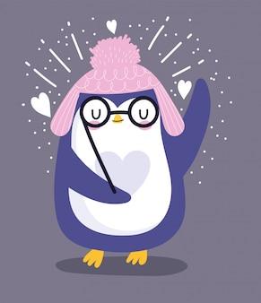 Pingwin w okularach