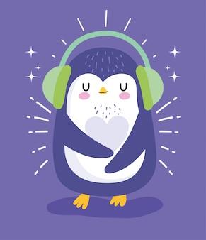 Pingwin z nausznikami