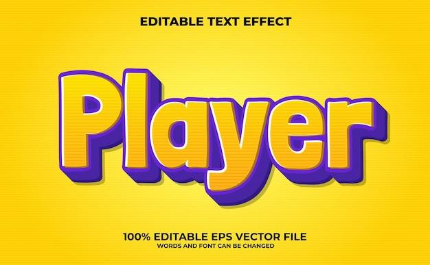 Piraci edytowalny efekt tekstowy premium wektorów