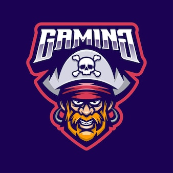 Piraci logo maskotka