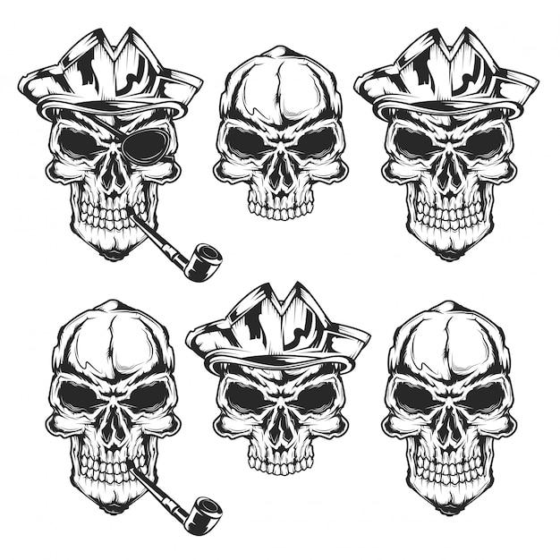 Pirackie czaszki